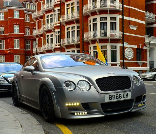 Matte-Grey-Hamann-Imperator-Bentley-Continental-GT