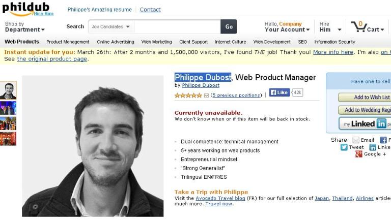 Philippe-Dubost-Amazon-Resume