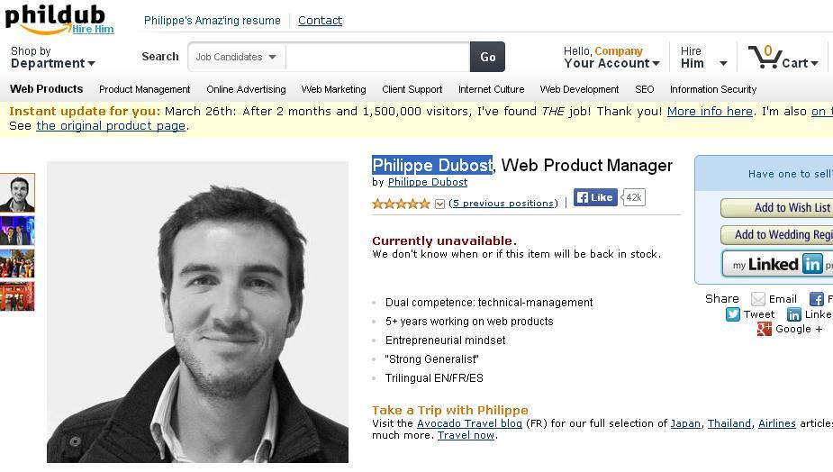 Philippe-Dubost-Amazon-Resume