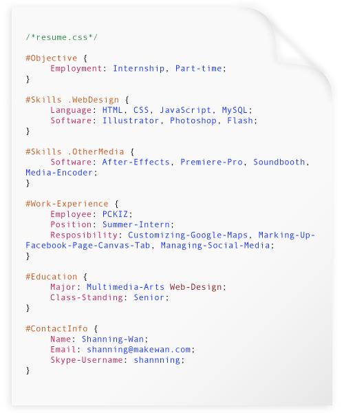 Shanning-Wans-programming-resume